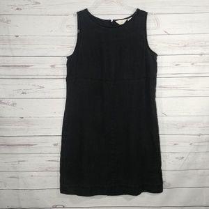 J. Jill 100% Linen Sleeveless Mini Dress sz 8